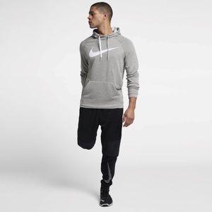 Nike Training Dri-Fit Men's Pullover Hoodie Gray